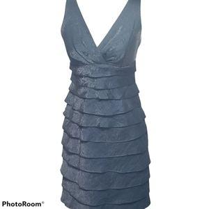 🔥HP🔥London Style Tiered Ruffle Dress Sz 4